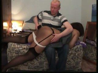 Hitam wanita spanked: gratis tamparan di pantat porno video f2