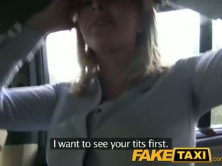 FakeTaxi Prague blonde with a great ass and tits - Porn Video 671