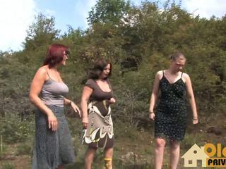 Oldie סקס im freien: גרמני הגדרה גבוהה פורנו וידאו 50