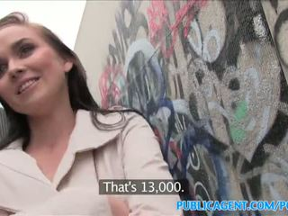 PublicAgent Hot babe fucks stranger in alleyway - Porn Video 961