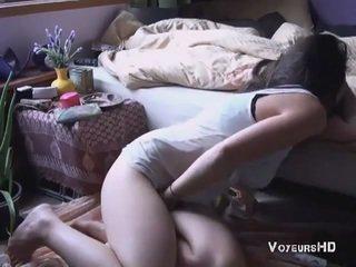 Sister chycený masturbating