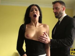 Squirting brit onderdanig is cumswallowing: gratis hd porno 10