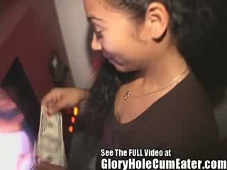Latina Loves Sucking Off Gloryhole Cocks In A Seedy Tampa Adult Bookstore