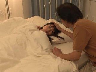 Seksi kanssa aasialaiset karvainen gal