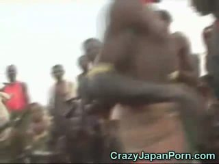 Japonesa sexo em africa!