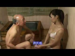 Hapon nars taking pag-aalaga about lolo video