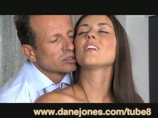 DaneJones Teen takes older lover