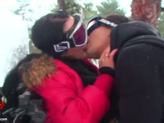 Cool cock sucking and real sex outdoor...
