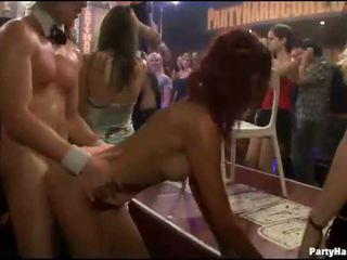 Cope dancing strip and leaking puss