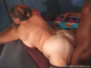 Gorda branca babaca fodido por negra caralho