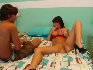 French Bigtitted Mom Shagging Her Step...
