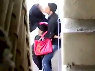 Arab סקס נתפס ב camera