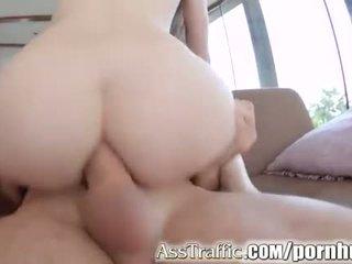 Bips traffic misha oversteken diep anaal met reusachtig gapes