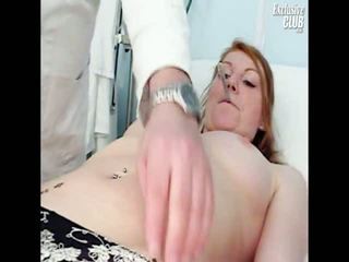 Helga Gyno Pussy Speculum Examination Onto Gynochair At Kinky Clinic
