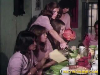 retro, lesbisk, vintage porn