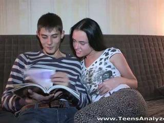 Teens Analyzed: Russian babe Sveta first anal