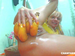anale, masturbazione, biondo