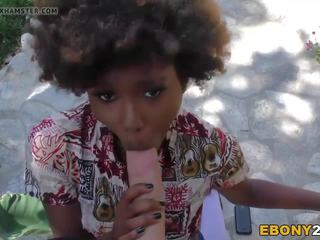 Ebony Teen Daizy Cooper Fucks Huge Cock, Porn 87