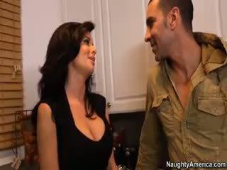 brunete reāls, big boobs, jauns blowjob hq