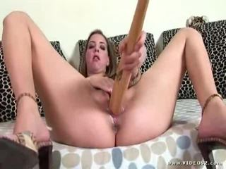 toys, huge dildo, pussy and dildo