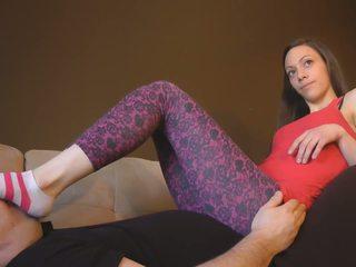 Feet Worship in Leggings, Free Babe Porn Video 88