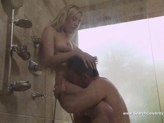blondīnes, dušas, slavenības