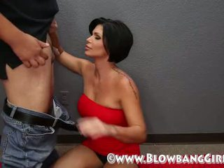 Shay fox blowbang sie sucks ab 6 guys