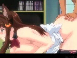 Ekkel hentai tenåring nymph jumping sperm loaded pikk