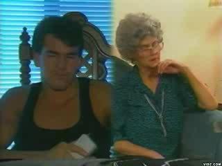 boyfriend, grandma, aged