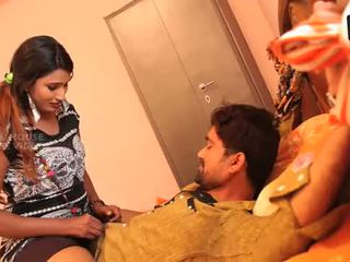Telugu aunty with a lover boy