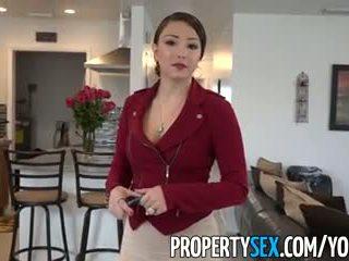 Propertysex - liels pakaļa latina reāls estate agent pieviltas stāšanās amatieri sekss video