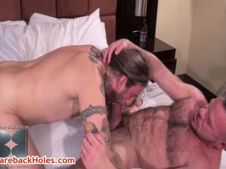 Jack Holden, Peter Axel And Greg York Homo Group Sex