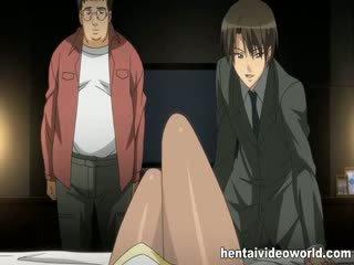 Mooi rondborstig anime babe banged