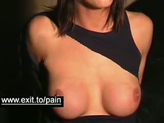 esmer, büyük göğüsler, bdsm
