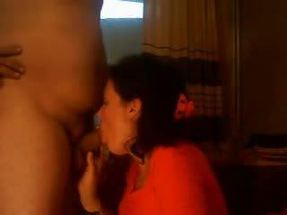 Bulgarian wife blowjob hubby