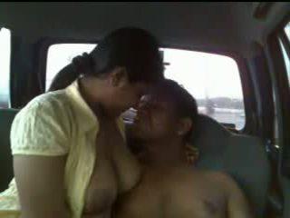 Indian couple car sex Video