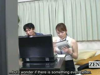 Subtitled japānieši sekss rotaļlieta apģērbta sievete kails vīrietis measuring via minēts