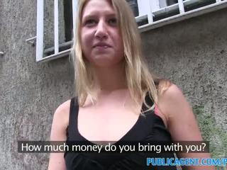 PublicAgent Russian accepts cash for sex from stranger - Porn Video 661