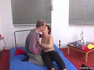 Redhead Granny Getting Fucked, Free Mature Porn Video ae