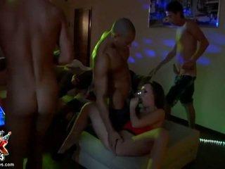 Seksi crazed humalassa amateurs perseestä sisään kimainen vimma