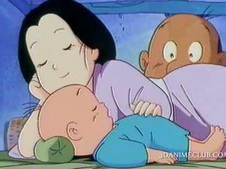 Geil anime echtgenoot nailing hard zijn wifes poesje