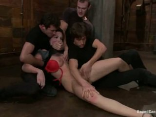 Aria Aspen Has Her Ass Hole Used In Gang Bang Performance