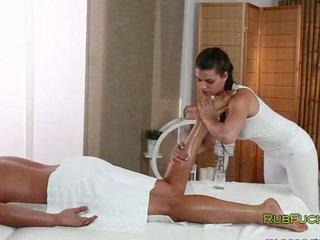 Nglengo masseur fucks muscle dude