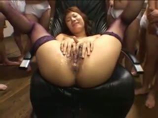 éjaculations, gangbang, hd porn