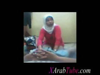 Hijab caralho massagem