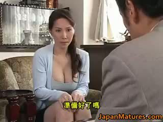 japansk, gruppsex, stora bröst