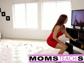Step mom fucks son in hot bukkake gangbang bayan tape