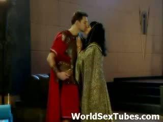 Cleopatra koningin van egyptisch porno
