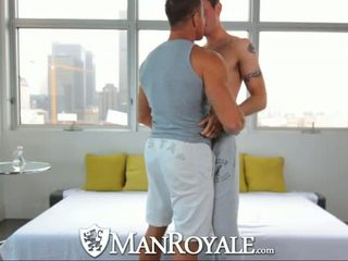 HD - ManRoyale Studs get their big cock oiled