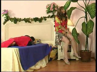 Sexy crossdresser gets anale ramming